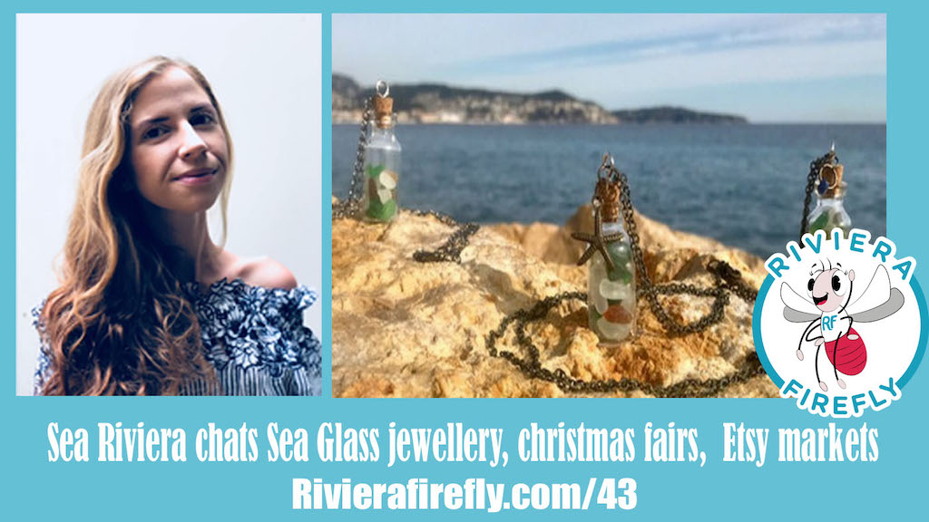 43: Etsy selling, creating jewellery, seaglass, christmas fair
