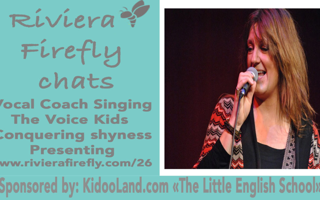 26: Vocal Coach, The Voice Kids, Positive and Confident Public speaking