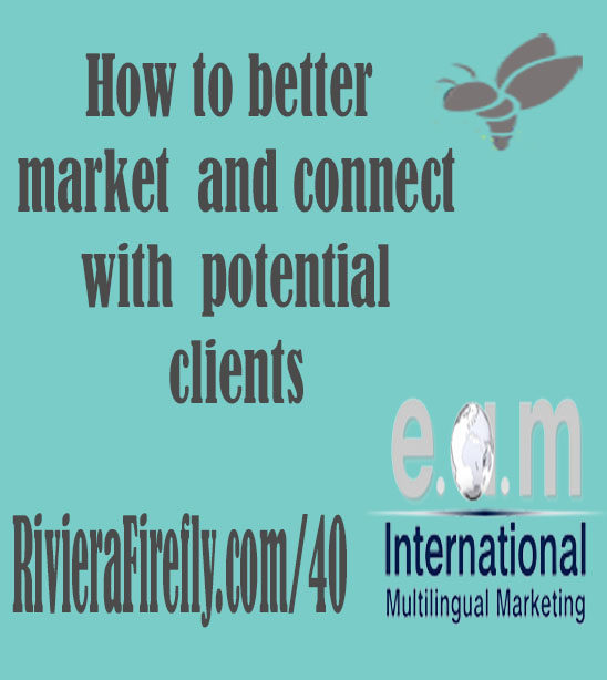 40: Connect with your clients using effective Marketing PR Advertising