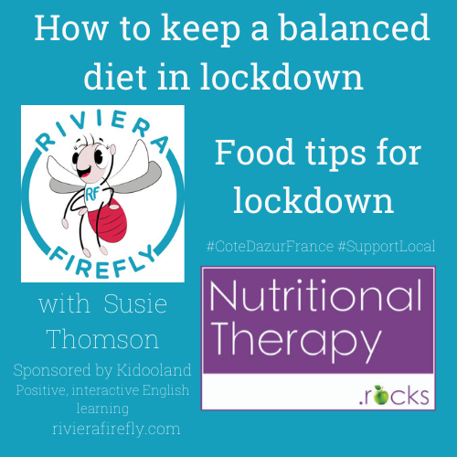 Nutrition Immunity for balance during lockdown &  beyond